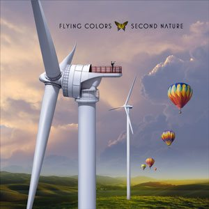 Flying Colors - Second Nature cover art