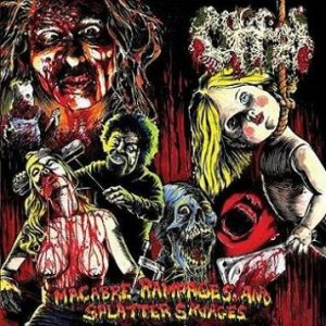 Offal - Macabre Rampages and Splatter Savages cover art