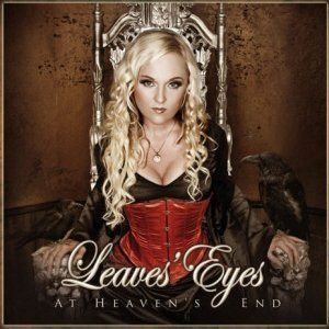 Leaves' Eyes - At Heaven's End cover art