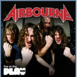 Airbourne - Live at the Playroom cover art