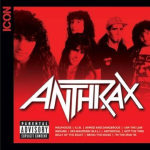 Anthrax - Icon cover art