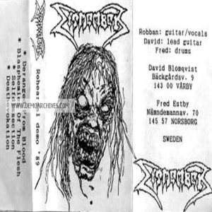 Dismember - Rehearsal Demo '89 cover art