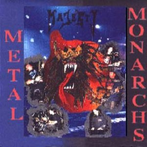 Majesty - Metal Monarchs cover art
