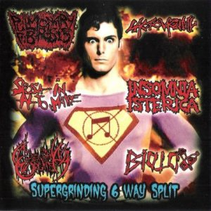 Pulmonary Fibrosis - Supergrinding 6 Way Split cover art