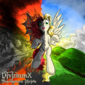 DivinumX - The Narrow Divide cover art