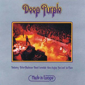 Deep Purple - Made in Europe cover art
