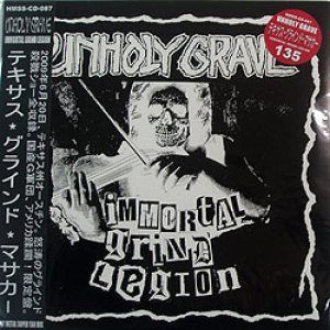 Unholy Grave - Immortal Grind Legion cover art