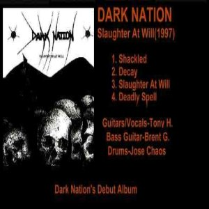 Dark Nation - Slaughter at Will cover art