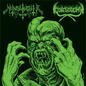 Nunslaughter - Nunslaughter / Goatsodomy cover art