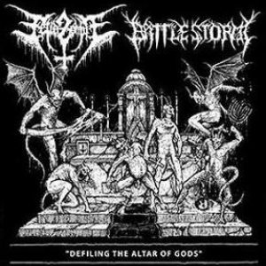 Fetid Zombie / Battlestorm - Defiling the Altar of Gods cover art