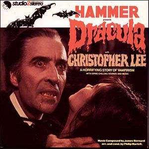 Christopher Lee - Hammer Presents Dracula cover art