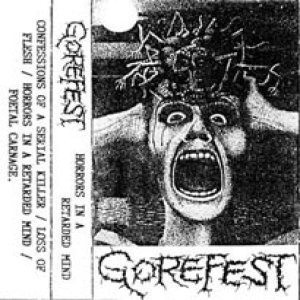 Gorefest - Horrors in a Retarded Mind cover art