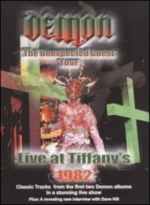 Demon - The Unexpected Guest Tour - Live at Tiffany's 1982 cover art