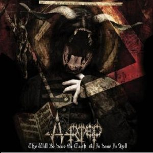 Artep - Thy Will Be Done on Earth As Is Done in Hell cover art
