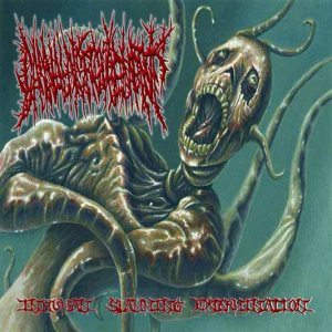 Carnal Disfigurement - Inhuman Slamming Extermination cover art