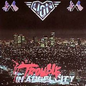 Lion - Trouble in Angel City cover art