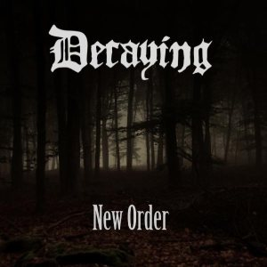 Decaying - New Order cover art