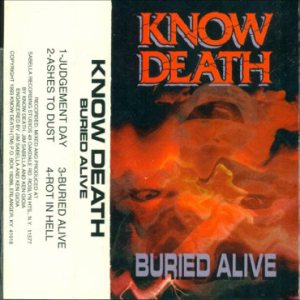 Know Death - Buried Alive cover art