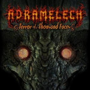 Adramelech - Terror of Thousand Faces cover art