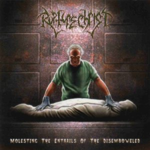 Rupture Christ - Molesting the Entrails of the Disemboweled cover art