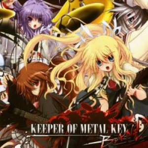 SOUTH OF HEAVEN - KEEPER OF METAL KEY BAND cover art