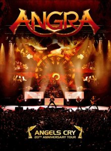 Angra - Angels Cry 20th Anniversary Tour cover art