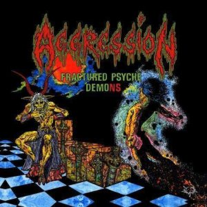 Aggression - Fractured Psyche Demons cover art