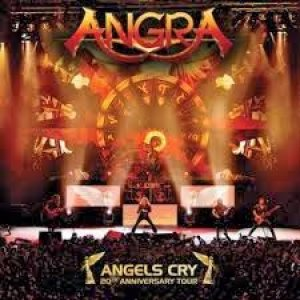 Angra - Angels Cry: 20th Anniversary Tour cover art