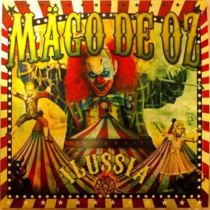 Mägo de Oz - Ilussia cover art