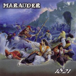 Marauder - 1821 cover art