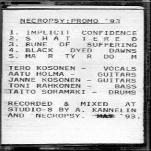 Necropsy - Promo 93 cover art