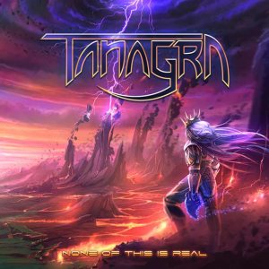 Tanagra - None of This Is Real cover art