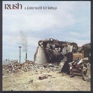 Rush - A Farewell to Kings cover art