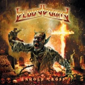 Bloodbound - Unholy Cross cover art