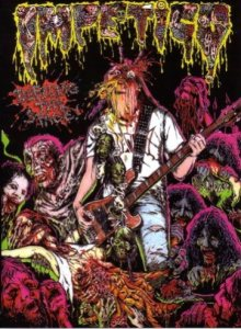 Impetigo - Defiling the Stage cover art