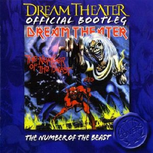 Dream Theater - The Number of the Beast cover art