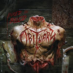 Obituary - Inked in Blood cover art