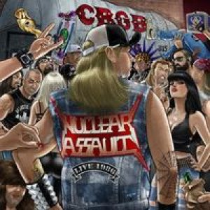 Nuclear Assault - Live at CBGB's cover art