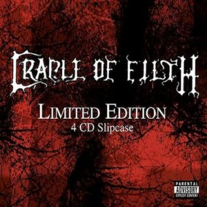 Cradle of Filth - Limited Edition 4 CD Slipcase cover art