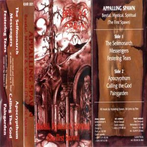 Appalling Spawn - Bestial, Mystical & Spritual (The First Spawn) cover art