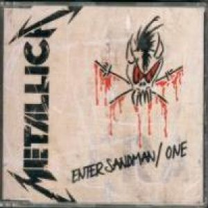 Metallica - Enter sandman / One cover art