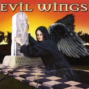 Evil Wings - Shine in the Neverending Space cover art