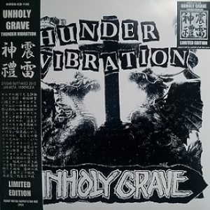 Unholy Grave - Thunder Vibration cover art