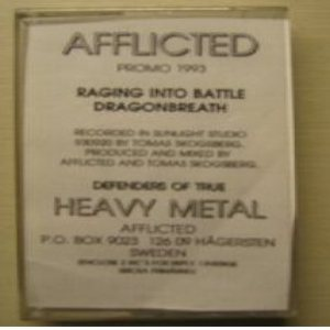 Afflicted - Demo 1993 cover art