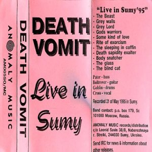 Death Vomit - Live in Sumy cover art