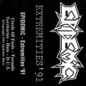 Epidemic - Extremities '91 cover art
