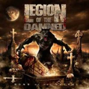 Legion of the Damned - Sons of the Jackal cover art
