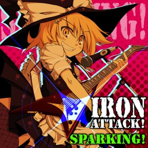 Iron Attack! - Sparking! cover art