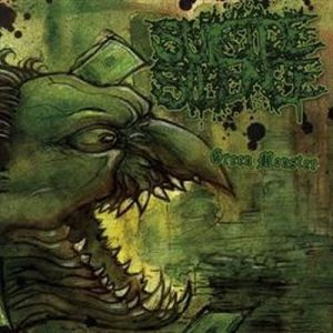 Suicide Silence - Green Monster cover art