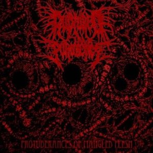 Ruptured in Purulence - Protuberances of Mangled Flesh cover art